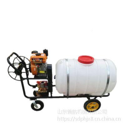 大容量杀虫喷雾车 普航自走式玉米打药机 果园专用风雾打药机