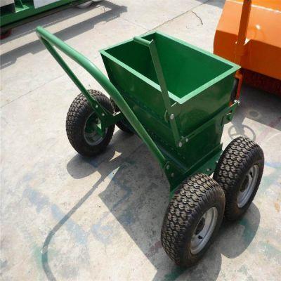 厂家生产人造草坪充砂机 小型手推草坪填砂机 150型草地冲沙机