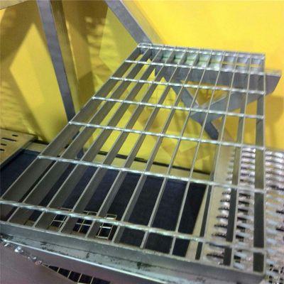 热浸锌钢格板 钢格板现货 平台格栅板重量