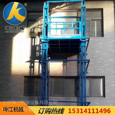 厂家生产链条双轨多功能室内外小型电动提升机上料机家用外墙电梯