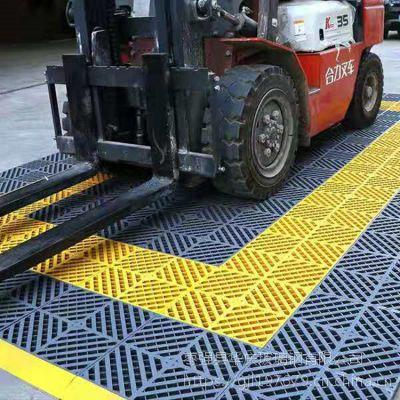 洗车行高品质 多功能塑料格栅 地面排水网格板 尺寸400*400*30