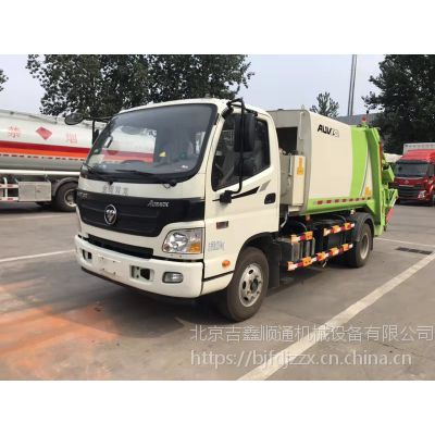 福田欧马可压缩式垃圾车 156马力 6档变速箱 带空调 可上北京牌照