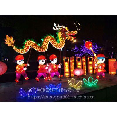 中璞花灯承接元宵节灯会彩灯设计大型节日花灯生产厂家