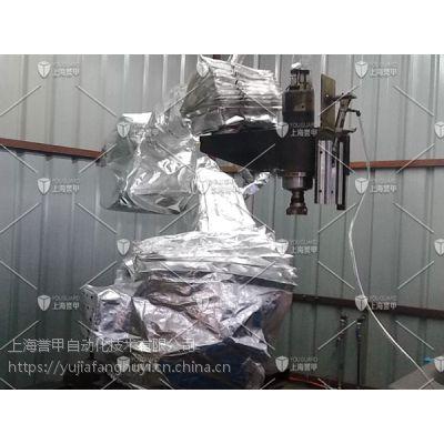 安川机器人耐高温服的制作