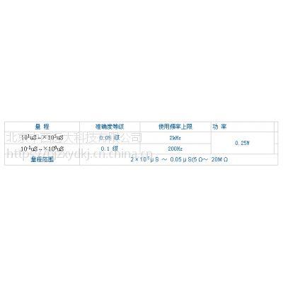 中西(LQS现货)检定电导仪专用交流电阻箱 型号:GG307-ZX123B库号:M212775