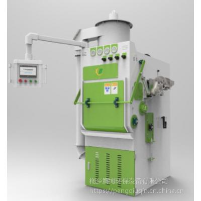 供应 腾博 TB-Q400-4A履带式水喷沙机设备,自动喷砂