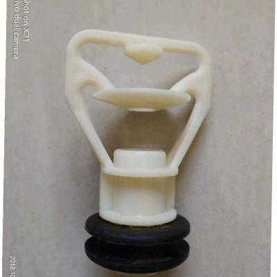 郑州凉水塔三盘喷头 ABS材质 7种型号三溅式喷头 品牌华庆