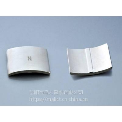 东阳市马力磁铁 【2018-12-18】电机异形磁瓦钕铁硼强力磁铁D237