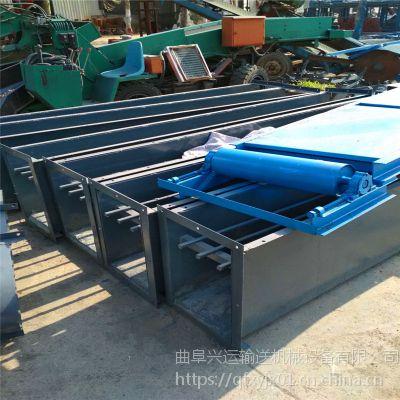 按需定做各种型号爬坡输送刮板机量产 链式输送机