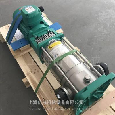 WILO进口泵MVI3206立式11KW立式管道热水泵