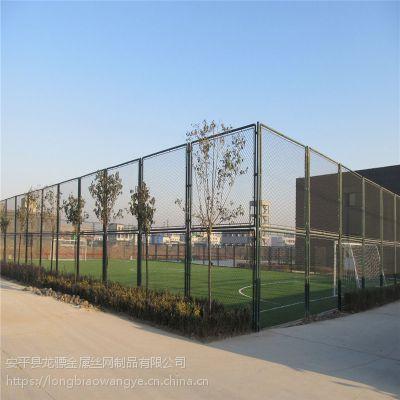 城市球场隔离防护网 圈地勾花围网价格 河道勾花防护网