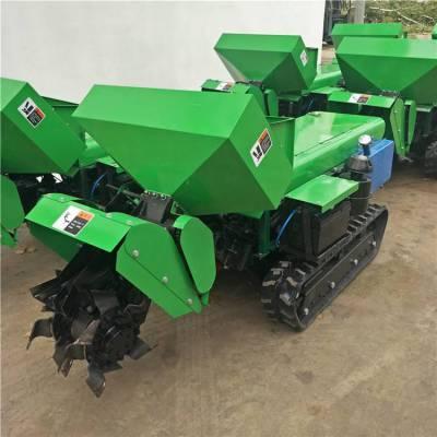 吉林果林内用履带深耕机 润丰 有施肥箱自动撒肥机