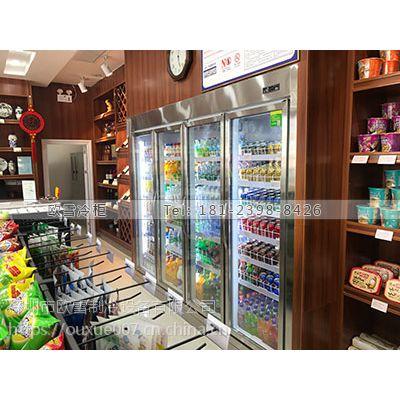 广西饮品两门展示柜哪家品牌质量好
