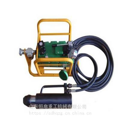 MQ18气动锚索张拉机具 张拉千斤顶 QYB-60型气动液压泵