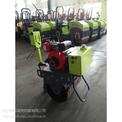 厂家供应小型手扶单轮压路机 管沟回填专用小压路机价格