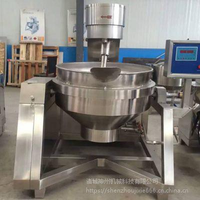 厂家定制自动拌料机 行星搅拌 高沾度馅料炒制