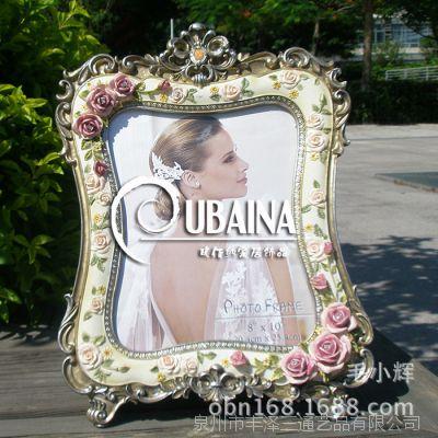 10寸树脂相框工艺品高档结婚礼物创意相框婚纱相架批发家居摆台