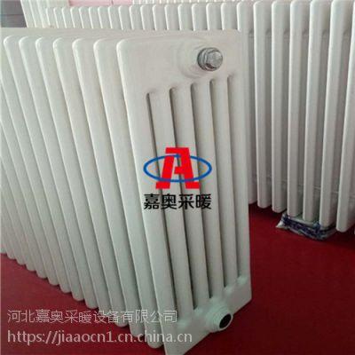 钢制壁挂式@喷塑钢制暖气片@定做圆六柱散热器承压高