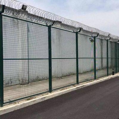 看守所围栏铁网 铁丝护栏网 福州镀锌钢丝围栏网