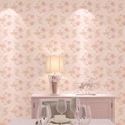 家装无缝提花墙布卧室客厅沙发电视背景墙墙布环保防水素雅壁布