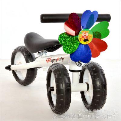 供应男女宝宝平衡车自行车无脚踏玩具滑行车宝宝单车可坐赠品三轮