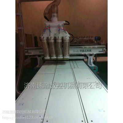 整体橱柜开料裁板加工中心 数控板式家具雕刻机