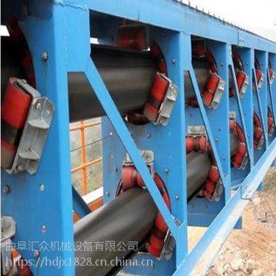圆管带式输送机输送各种粉状物料 重型