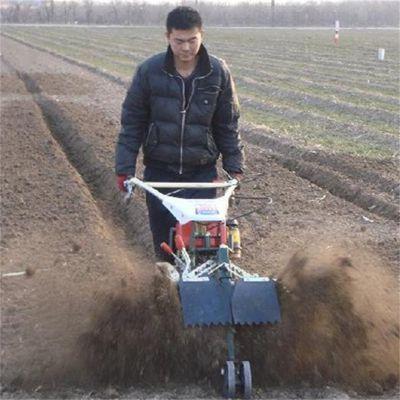 恒邦柴油大葱开沟培土机 小块土地小巧开沟培土机