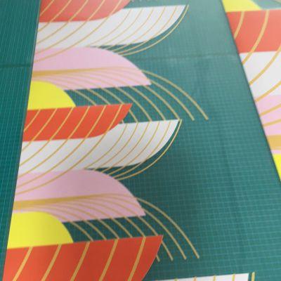 深圳厂家定制双面打印uv彩白彩贴纸 凹凸感强 汇美喷绘