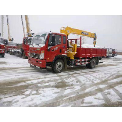 湖北程力重汽王牌6.3吨随车吊旺季大量现车厂家低价出售