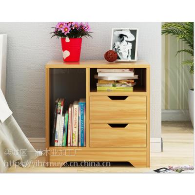 床头柜简约现代卧室储物柜简易床边收纳柜多功能创意小柜子批发
