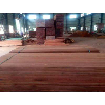 青海柳桉木地板木方柱子加工定制