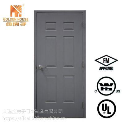 3 Hours fire rated steel door with WHI/FM/Intertek