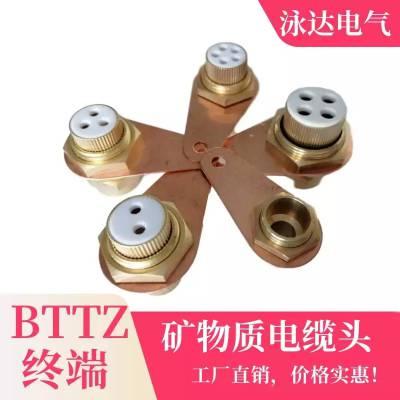 矿物质电缆头BTTZ-4X25深圳厂家