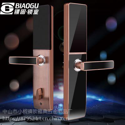 广东中山镖固品牌智能门锁 指纹锁 刷卡锁 密码锁 锌合金锁木门金属门锁BG666AC-1