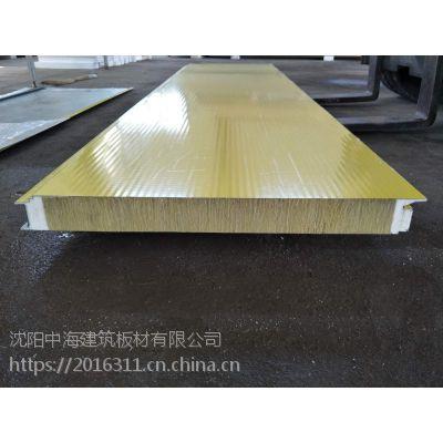 沈阳新型岩棉夹芯板,新型玻璃丝棉夹芯板【中海建筑板材】