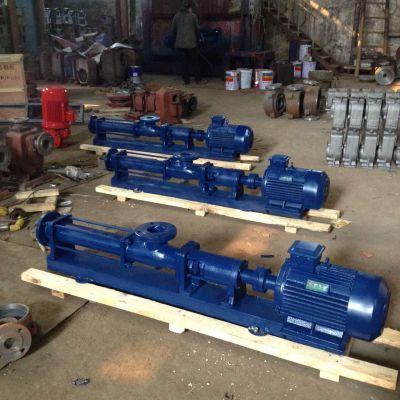 螺杆泵厂 GF25-1 1.5KW 不锈钢材质 上海众度泵业