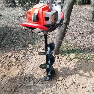 华晨种树挖坑机 陕西拖拉机挖坑机厂家 工程施工打洞机