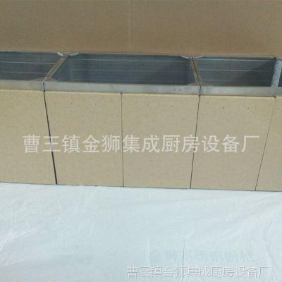 山东304不锈钢橱柜定制整体厨房橱柜不锈钢厨柜厨房定做【图】