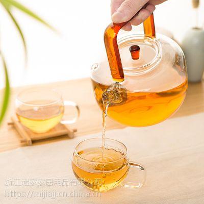 谜家/MYKEA 650ml高硼硅耐热玻璃茶趣沸水壶BH179801
