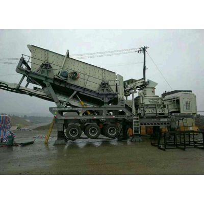 友邦简易移动制砂机,厂家直销移动破碎制砂设备,河南友邦机械