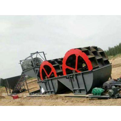 小型贝壳洗沙机 高效挖沙洗砂一体船