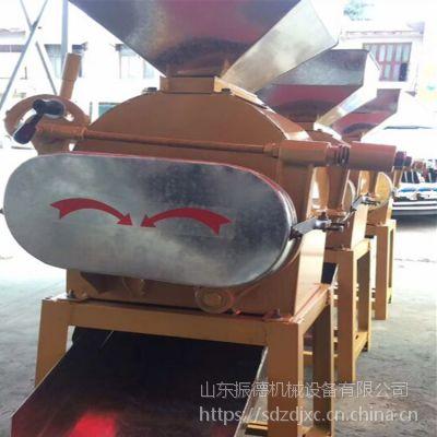 泰安糕点坊用熟花生米碎粒机 振德直销 花生破碎机型号价格参考 黄豆高粱挤扁设备