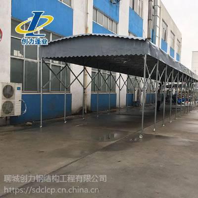 济源推拉仓储篷,大型仓储雨棚布,工业仓库雨棚