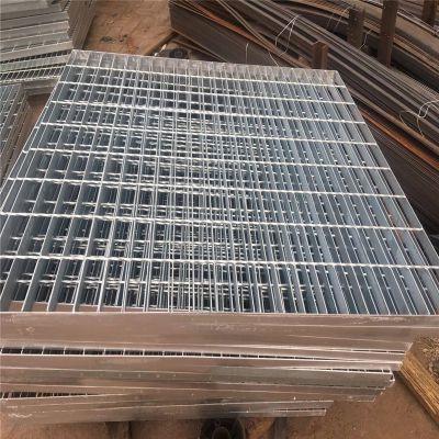 脚踏钢格板 钢格板镀锌加工 室外水沟盖板