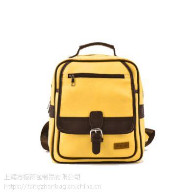 上海方振箱包厂批发定制幼儿园学生书包广告礼品包可定制logo