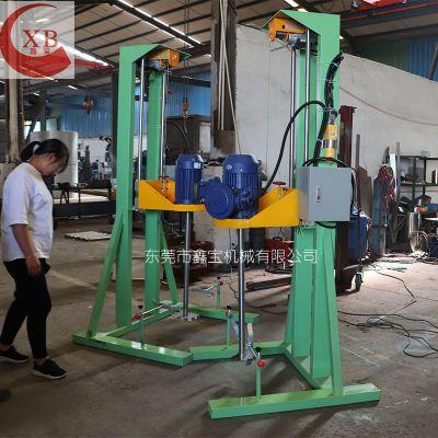 博罗高速胶水搅拌机 鑫宝变频调速液体分散机厂家现货