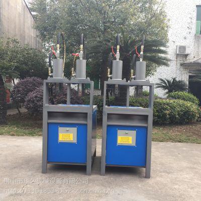 63油缸液压冲床 半自动脚踏式方管圆管冲孔机 铝合金冲孔机 方管切断厂家