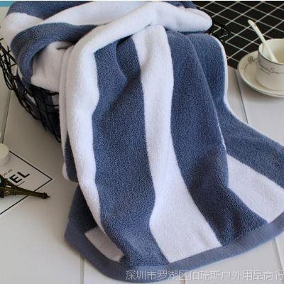BRS纯棉浴巾成人吸水柔软不掉毛加厚加大全棉大浴巾100%纯棉