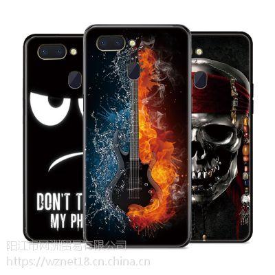 oppor15手机壳新款彩绘防摔壳卡通可爱 全包 硅胶软壳 手机保护套oppo